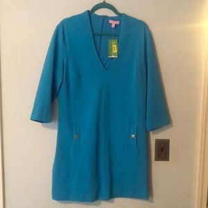NWT XL Lilly Pulitzer turquoise dress